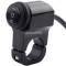 Light Switch 12V CNC Aluminium Alloy Push Button Waterproof Switches For ATV 4 Wheel Quad Pit Bike Motorcycle Light Bike Light Spotlight- Fits 7/8  Handlebars(22mm)