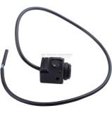 7/8 inch Handlebars Light Switch 12V CNC Aluminium Alloy Push Button Waterproof Switches For ATV 4 Wheel Quad Pit Bike Motorcycle Light Bike Light Spotlight