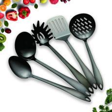 Black 5 Nonstick Cooking Utensils Set