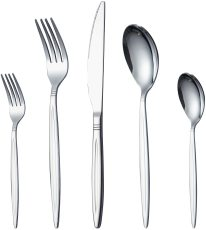 30 Pieces Silver Cutlery Set,  Service Set for 6