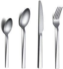 24 Pieces Matte Cutlery Set Service for 6