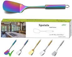 Colorful Spatulas With Titanium Plating, Cooking Spatula