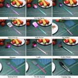 WentFun 13 Pieces Stainless Steel Rainbow Cooking Utensils Set