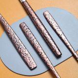 24 Pieces Shiny Glossy Mouth Titanium coating Silverware Set
