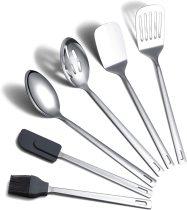 6 Packs Stainless Steel Heat Resistant Kitchen Tool Set