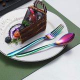 20-Piece Rainbow Utensil Sets Service Set for 4 (Shiny Rainbow)
