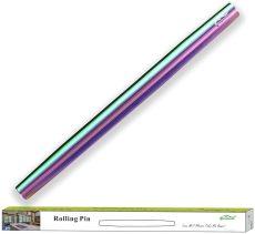 Rainbow Titanium Plating Rolling Pin Matte Finish