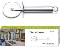 Pizza Wheel Stainless Steel Pizza Cutter, Super Sharp Pizza Slicer