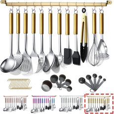 Kitchen Tool 38 Pieces Stainless Steel Kitchen Utensil (with Holder)