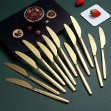 Dinner Knives Set Of 12, Stainless Steel Shiny Mirror Dinner Knife
