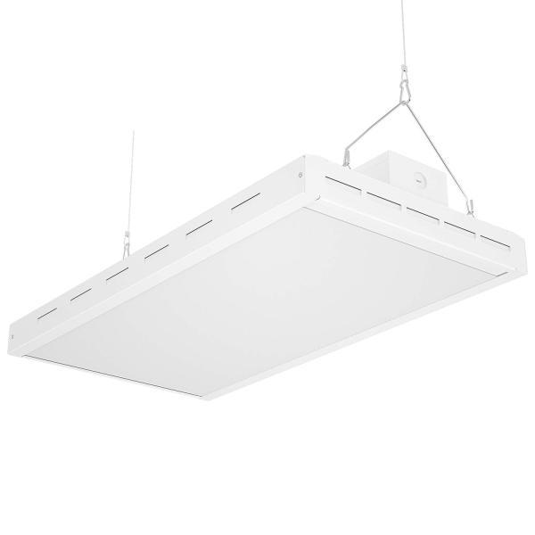 AntLux 2FT Linear LED High Bay Light Fixture, 110W (400W Fluorescent Equiv.), 13200lm, 5000K, Dimmable, Hanging Warehouse Shop Lights, Industrial Indoor Workshop Garage High Bay LED Lighting