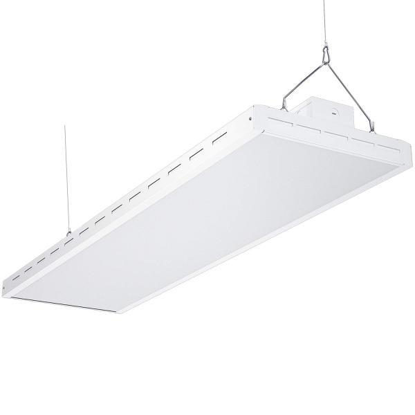 AntLux 4FT LED Linear Integrated Bay Light Fixture - 220W (800W Equiv.), 26500lm, 5000K, Dimmable, Hanging Warehouse Lights, Industrial Indoor Area Workshop Garage High Bay LED Lighting