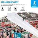 8 ft led shop light,8 foot shop lights