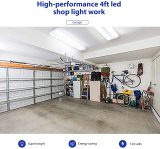 flush mount led shop lights