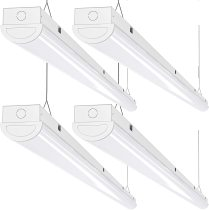 AntLux 110W LED Linear Strip Lights 8FT LED Shop Lights, 12000 Lumens, 5000K, 8 Foot Garage Lights, Surface Mount and Hanging Ceiling Lighting Fixture, Fluorescent Tube Replacement, 4 Pack