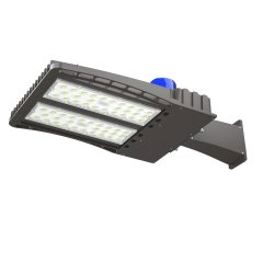 AntLux 200W LED Parking Lot Lights Outdoor Shoebox Pole Light, 26000LM, 5000K Daylight White, 600W MH/HPS Replacement, IP66 Waterproof Area Street Court Security Lighting Fixture, Photocell Included