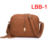 shoulder bag for women messenger bags ladies retro PU leather handbag  crossbody bag