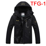 2019 Autumn Winter Mens Jackets Fleece Thick Men's Coat Windbreaker Breathable Mens Clothing
