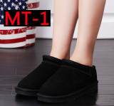 MT Men Loafers Soft Moccasins Genuine Leather Shoes
