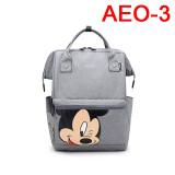 Women's Fashion Canvas Tassel School Bags Letter Zipper Solid Bucket Travel Soft Backpack Bag