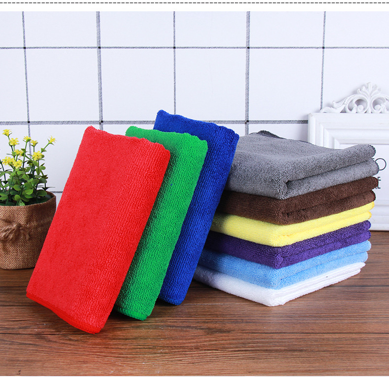 70x90cm   400gsm weft knitted microfiber towel