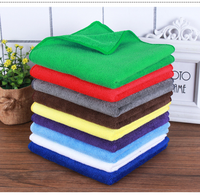 70x90cm   300gsm weft knitted microfiber towel