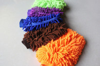 14x18cm 38 gram Chenille car washing mitt