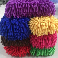25x28cm 43gram Chenille car washing mitt