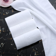 35x75cm 150gram  hotel  hand towel  white color