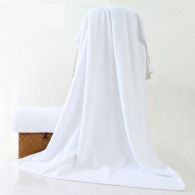80x180cm 600gsm 21/s hotel bath towel white color