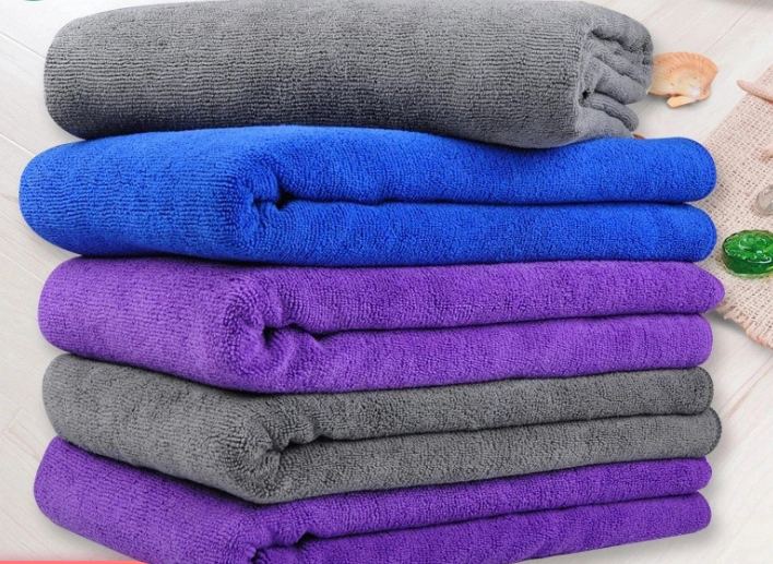 70x90cm  280gsm weft knitted microfiber towel