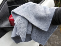 40x40cm  high plush 380gsm  edgless microfiber towel