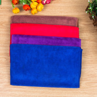 40x60cm 420gsm  weft knitted car  washing use  microfiber  towel