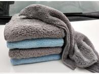 40X40cm 500gsm microfiber towel edgeless type