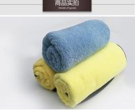 40x40cm 55g Microfiber towel high plush type
