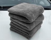 40x40cm 470gsm  Microfiber towel coral fleece type