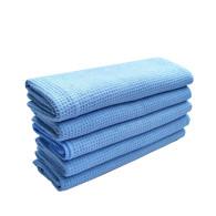 40x45cm 380gsm microfiber towel waffle type