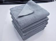 40x40cm 380gsm Microfiber towel high plush type