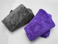40*40cm 350gsm  Edgless coral fleece microfiber towel
