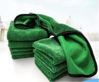 40x40cm 500gsm Microfiber towel Twist type