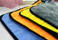 45x38cm 125gram Microfiber towel Coral fleece type