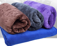 80x180cm 400gsm  Microfiber towel Sanding type