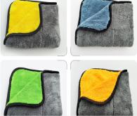 30*30cm 840GSM Microfiber towel Coral fleece type