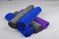 30*70cm 340gsm Microfiber Warp knitted towel