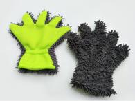 8x24.5cm  70gram  chenille five finger gloves