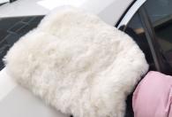 25 * 21cm 125gram wool car cleaning gloves
