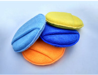 d17*2.5cm  15gram superfine fiber pocket waxing sponge