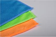 50x50cm 300gsm fish scale microfiber towel