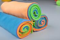 40x60cm 280gsm fish scale microfiber towel
