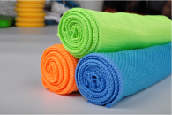 40x50cm 300gsm fish scale microfiber towel